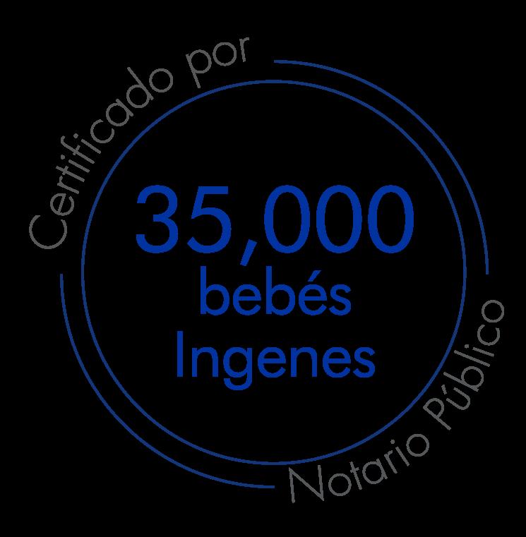 35,000 bebés